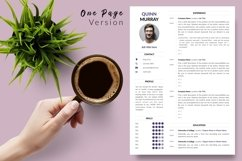 Modern Resume CV Template for Word & Pages Quinn Murray Product Image 2