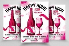 Happy Hour Flyer Template 04 Product Image 1