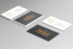 6 Style Business Card Mockups Product Image 2