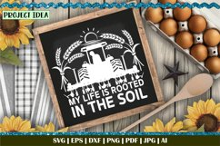 My life is rooted in the soil W | Farming | Tractor | Farmer Product Image 4