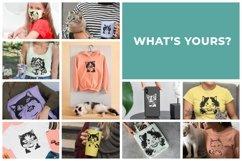 183 Cat Portraits Illustrataions SVG, PNG, eps, ai, pdf Product Image 6