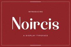 Web Font Noircis Product Image 1