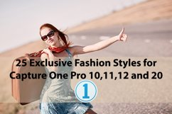 25 Exclusive Fashion Styles for Capture One 10,11,12,20 Product Image 1