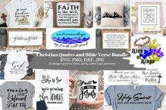MEGA Faith quotes Bundle, Christian quotes bundle, faith svg Product Image 6