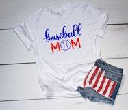 Baseball mom SVG - Sports mom SVG file, handlettered Product Image 2