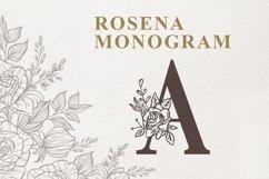 Rosena Monogram Product Image 1