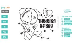 Thinking of You SVG Cut File Product Image 2