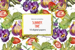 Summer digital paper pack Product Image 1