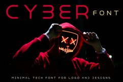 Cyber World - Minimal Font for Modern Designs Product Image 1