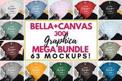 T-Shirt Mockup Bella Canvas 3001 Fashion Blog Style Bundle Product Image 1