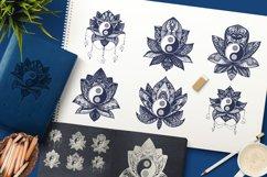 Yin Yang In Lotus Product Image 1