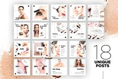 Beauty Instagram 18 Posts Template | CANVA Product Image 10