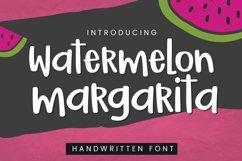 WEB FONT Watermelon Margarita Handwritten Font - WOFF File Product Image 2