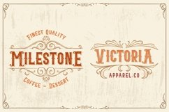 Blacktail - Layered Vintage Font Product Image 5