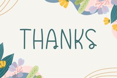 Spring Kids - Cute Display Font Product Image 6