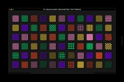 Bold geometric seamless patterns collection Product Image 2