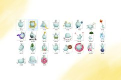Cute and funny sheep sticker bundle Product Image 3