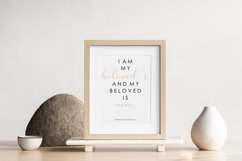 Scripture wall print, Bible verse, Love verse poster Product Image 2