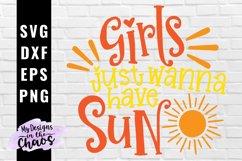 Summer SVG EPS DXF PNG | Cruise SVG | Summer Girl SVG Product Image 1