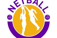 Netball player shooting blocking the shot Product Image 1