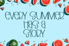 Web Font Fresh Fruits - A Quirky Hand-Lettered Font Product Image 2