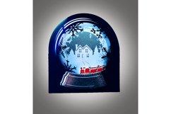 Snow Globe Winter wonderland Train Product Image 1