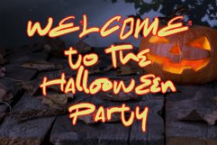 The Spooky Night - A Halloween Font Product Image 4