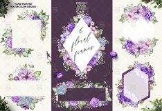 Ultra Violet watercolor design Product Image 3