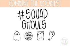 Halloween Doodle Font   Doodle Font Product Image 3