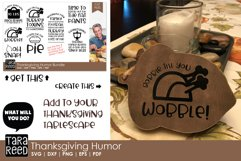 Thanksgiving Humor - Thanksgiving SVG files for Crafters Product Image 3