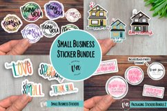 Best Sellers! Small Business Packaging Stickers Bundle PNGs Product Image 1