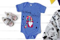 Noel Xmas SVG, Gnome, Merry Christmas, Kids Funny Christmas Product Image 3