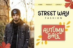 Sans Autumn - Display Font Product Image 3