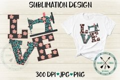 Sewing Love Sublimation Design Product Image 2