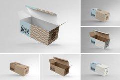 Long Top Tuck Auto Bottom Box Packaging Mockup Product Image 2