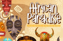 African Paradise - Display Trio Fonts Product Image 1