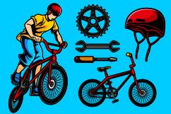 Biker Vector Pack Product Image 1