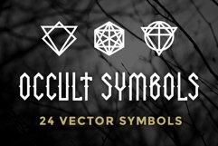 24 Occult Symbols Plus 4 Free Photos Product Image 1