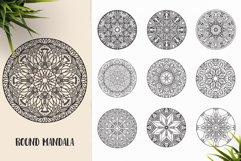 530 Vector Mandala Ornaments Bundle Product Image 25