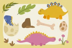 Dinosaurs Vector Clipart Pack Product Image 3