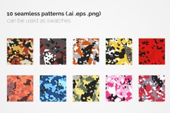 Flecktarn Camo Seamless Patterns Product Image 2