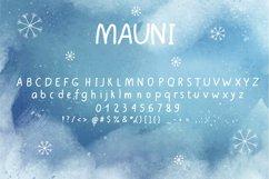 MAUNI Simple Handwritten Product Image 2