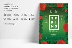 Spring Festival Flyer Template Product Image 3