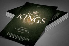 A Tale of Two Kings Church Flyer Product Image 2