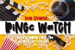 Binge Watch - A Shadow Font Trio Product Image 1
