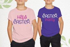 Small Bunny - Display Font For Easter Season Product Image 3