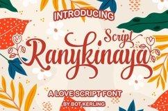 Ranykinaya Script Product Image 1