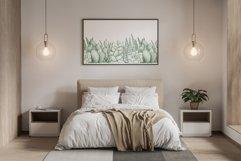"Watercolor Pattern Set ""Succulents"" Product Image 6"
