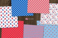 4th of July digital paper Product Image 3