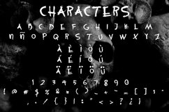 Stalker mode - Scary font Product Image 2